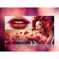 Best Advertising Display Seamless Video Wall Lcd Monitors , Indoor Lcd Wall Display wholesale