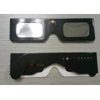 Quality Eclipse Glasses for Watching Sun Spot - Safe Solar Cardboard Eclipse Shades wholesale