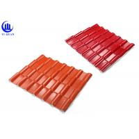 Best Warehouse Synthetic Spanish Roof Tiles Acoustic Insulation Corrosion Resistance wholesale