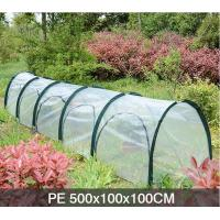 Quality PE Five Door In The Side Pop Up Greenhouse Tent Grow Tunnel For Plants And Flowers 13 KGS Each in an oxford wholesale