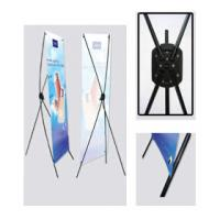 China indoor / outdoor banner stands , high definition trade show X banner printing on sale