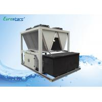 Cheap High EER R407C Air Screw Industrial Water Chiller For Grinder Industry for sale