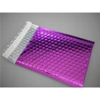 Best Multi Colored Purple Metallic Bubble Mailers 220x275 #B5-3 For Transport wholesale