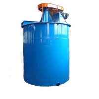 Energy Saving Mining Mixer Agent Agitation Tank For Gold Dressing Plant for sale