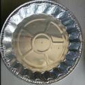 Heat Sealing Plain 3004 0.2mm FDA Aluminium Foil Container for sale