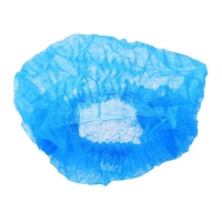 30gsm 20inch Disposable Head Cover With Elastic Band Single or Double Elastic for sale