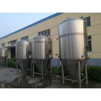 Best SUS304 Craft Beer Brewing Equipment 20bbl With Carbonation Stone PLC Control wholesale