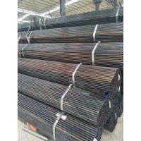 Best Flat End Black Welded Steel Pipe Bent / Folded Without Cracks / Heavy Leather wholesale