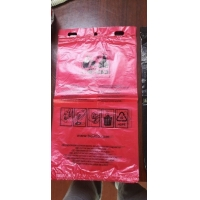 China Pure Pla Polylactic Acid Compostable Grocery Bags For Hotel Restaurant for sale
