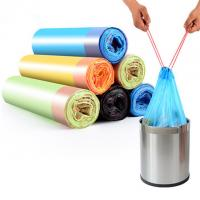 Colored Commercial Trash Bags , Rolled 8 Gallon Trash Bags Gravure Printing for sale