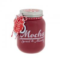 Best Christmas Natural Soy Wax Candles Custom Milk Scented Candle Jar With Metal Lid wholesale