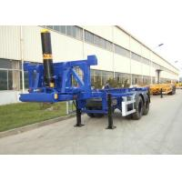 Best 2 Axles 20ft Flatbed Container Trailer Truck Container Dump Trailer wholesale