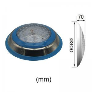 Best Wall Mounted Stainless Steel 18W Color Changing Pool Light wholesale