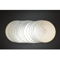 """Cheap 6""""inch -20""""inch Ultra Thin Sintered Diamond Lapidary Notched Rim Saw Blades With Single Directional Blades for sale"""
