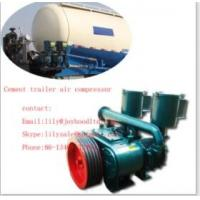 Professional 9cbm Seated Type air compressor bulk cement for Concrete Mixer Truck