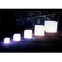 Buy cheap Colorful LED Cube Light / Light Up Cube Table Bring Fun And Add Character from wholesalers