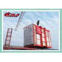 Best Customized Rack & Pinion Elevator Goods Hoist With Operator Cabinet Variable Speed wholesale