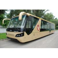 Best Comfortable Diesel Engine 13 Seater Airport Apron Bus With Aluminum Apron wholesale