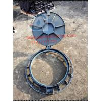 China driveway manhole cover,820x600x100mm,EN124D400, ductile iron lockable cover ,sewage cover  ,  drainage cover  hot sales for sale