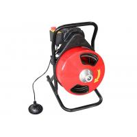 Best Hongli 300F Drum Machine Drain Cleaner With Foot Switch / 250W Motor wholesale