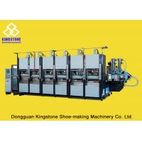 China EVA Slipper Making Shoe Sole Making Machine With Full Production Line / 6 Stations for sale