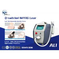 Best 1600mj High Power Q Switched Nd Yag Laser Tattoo Removal Equipment / 1064 Nm 532nm Nd Yag Laser wholesale