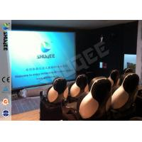 Best 5D Durable Movie Cinema Motion Chair 2 Seats / set With Vibration / Jet And Shift wholesale