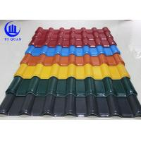 Best Unbreakable Waterproof Synthetic Resin  Roof Tile with ASA Coating wholesale