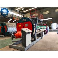 China 105 % Thermal Efficiency Capacity 1 - 3 Ton Industrial Condensing Gas Steam Boiler For Plywood Factory for sale