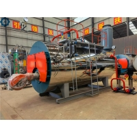 Low Pressure Fully Skid - Mounted Steam Boiler For Industrial Clothing Industry for sale