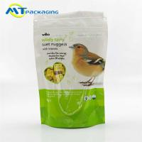 Best Gravure Printing Pet Food Packaging Bags For Birds Accept Customized Logo wholesale