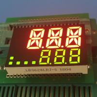 Buy cheap High brightness red / green 7 Segment LED Display For Temperature Indicator from wholesalers
