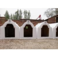 Buy cheap Outdoor Plastic Hygienic Calf Hutches With Three Air Vents , 1.7m Height from wholesalers