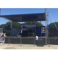Buy cheap SMD3535 Outdoor P10 Full Color Waterproof Rental LED Display Screen, Cabinet Size: 640x640mm from wholesalers