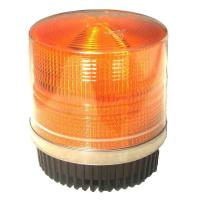 Best Round Amber Warning LED Police Beacon Light Magnet Fixation for Emergency Vehicles wholesale