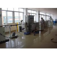Best Dia 40mm-100mm Cable Extruder Machine With Mainframe / Main Control Cabinet wholesale