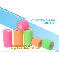 China Sports medical elastic adhesive bandage strip linear Tensoplast cotton compression bandage,Athletic Tape Nonwoven Latex for sale