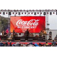Buy cheap HD Outdoor Rental LED Display P3.91 Lightweight Die Casting Aluminum Panel from wholesalers