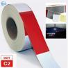 Best Traffic Emergency DOT Reflective Tape , Dot Trailer Markings 2 Inch x 150 Feet Roll wholesale