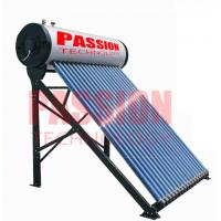Best 250L Compact Pressurized Evacuated Tube Integrated Solar Water Heater for Home wholesale