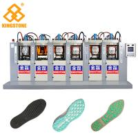 TPU TR PVC Shoe Sole Making Machine 6 Stations With P.I.D. Control System for sale
