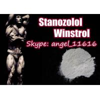 Quality Pharmaceutical Stanozolol Oral Steroids Winstrol White Powder For Muscle Growth wholesale