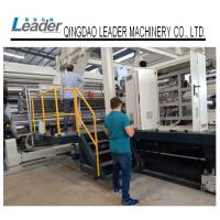 Best PLC Controlled PE Waterproof Geomembrane Sheet Extrusion Line Heavy Structure wholesale