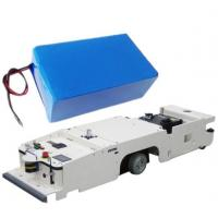 Buy cheap High Quality AGV Lithium Batteries 24V 60AH , LiFePO4 Battery / Lipolymer Battery Custom Made from wholesalers