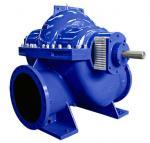 Best Big Flow Double Suction Volute Pump , Horizontal Split Case Pump Electric / Diesel Motor wholesale