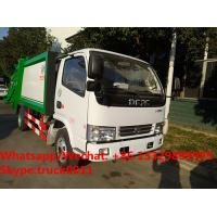 Best 2017s best seller-dongfeng LHD/RHD 4tons compression garbage truck for sale, Factory customized refuse garbage truck wholesale
