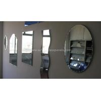 Quality Aluminum 8mm Colored Silver Backed Mirror Glass Decoration and Furniture wholesale