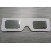 Quality Customize Cardboard Solar Eclipse Eyewear / White Color eclipse viewing glasses wholesale