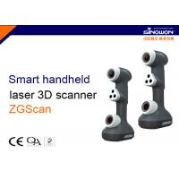 Buy cheap Timely Handheld 3D Laser Scanner , 3D Portable Laser Scanner Measure Anywhere from wholesalers
