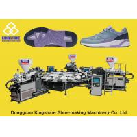 High Production Rotary PVC/ TPR Shoe Sole Making Machine One / Two / Three Colors for sale